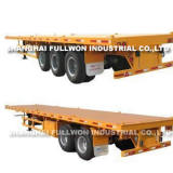 Bare Flated Container Semi-Trailer for 2 axles/3 axles