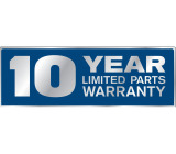 10 Year Warranty for our products