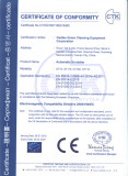 CE Certificate of Ride-on Scrubber