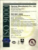UL Certificates 2009