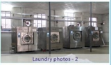Successful hotel laundry projects showing