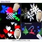home christmas festival projection light