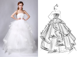 DIY Wedding Dresses Custom Bridal Wedding Evening Special