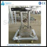 Global truss lifting system truss base truss sleeve block truss top section