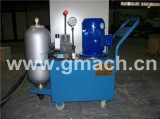Hydraulic unit with accumulator