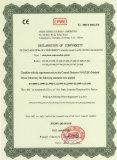 CE Certificate-LVD