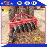 1LYQ driven disc plough testing