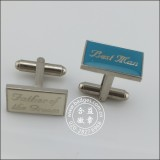 Metal Cufflinks with Logo