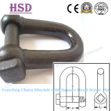 European type square heard trawling shackle