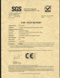 CE of EMC TEST REPORT