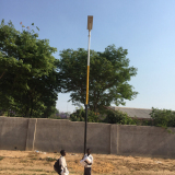 Integrated Solar Street light Africa Project