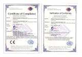 CE,RoHs Certificates