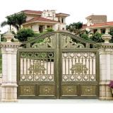 Cast Aluminum Villa Garden Gate