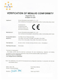 certificate of slitting machine