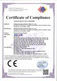 CE certificate for EMC of switching power supply