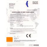 CE Certificate - swing door operator
