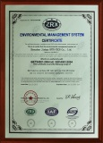 Enviromental Management System Certificate