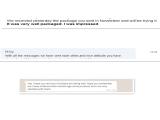feedback from customs