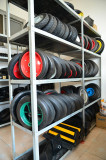 Sample Room of Wheels