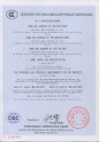 LEMA Micro Switch KW7 CCC Certificate