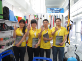 We attend the Canton Fair.