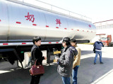 20 units of Milk tank truck trailer exported to Venezuela