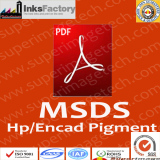 HP/Encad Pigment Ink MSDS