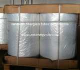 The packing of fiberglass sandwich mat