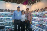 The old client from Panama come to visit us in Canton Fair