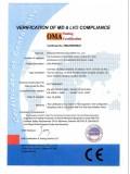 CE Certificate of Pad Printer