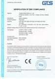 Thermostat CE Certificate
