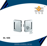 Stainless steel door lock for double door