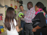African clients visit our factory
