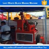 WT1-20 brick making machine in 2016 canton fair