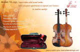Aileen VL-231 violin, a good sound solid violin, offers you the best value in its price range