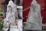 Custom Stone Cemetery Statue in Canada