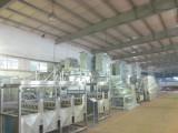 workshop of dyeing machine