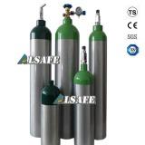DOT Standard medical Oxygen cylinder Aluminium tank