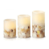 Sea Shell LED Flameless Candle for Home Decoration and Gift