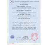 CCC Certification of QD35YG