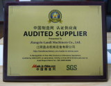 Audited Supplier 2012-2013
