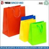 Muti-color simple shopping bag clothing packaging bag