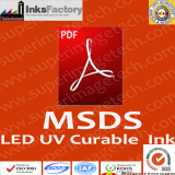 LED UV Curable Inks MSDS