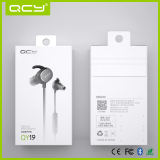 White gift box packaging for QY19 Sport earphone