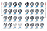 Replica Alloy Wheel for Ford & Chevrolet
