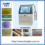 Chinese automatic industrial solvent inkjet 1-4 lines date time printer