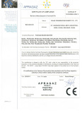 CE Certificate of Film Bag Making Machine