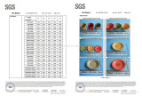 SGS Report for Handmade Colored Ceramic Dinner Set