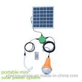 solar product 6w mono panel solar lighting kit