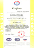 ISO 140001:2015 Certification